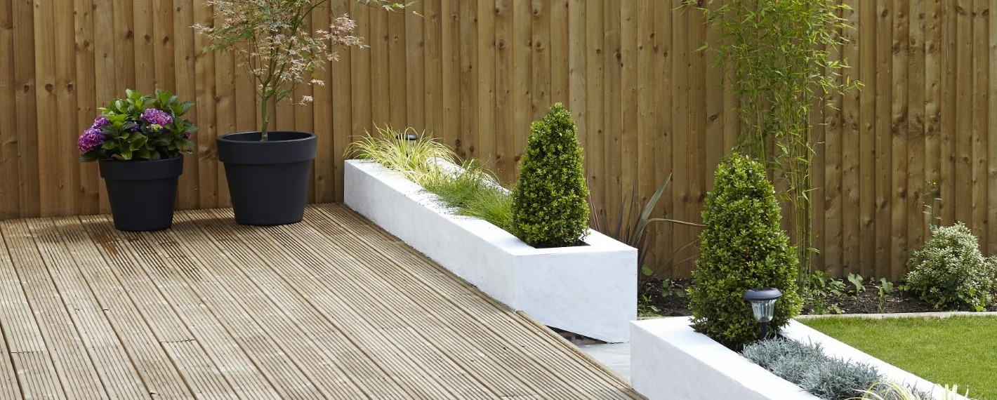 Quay Timber garden